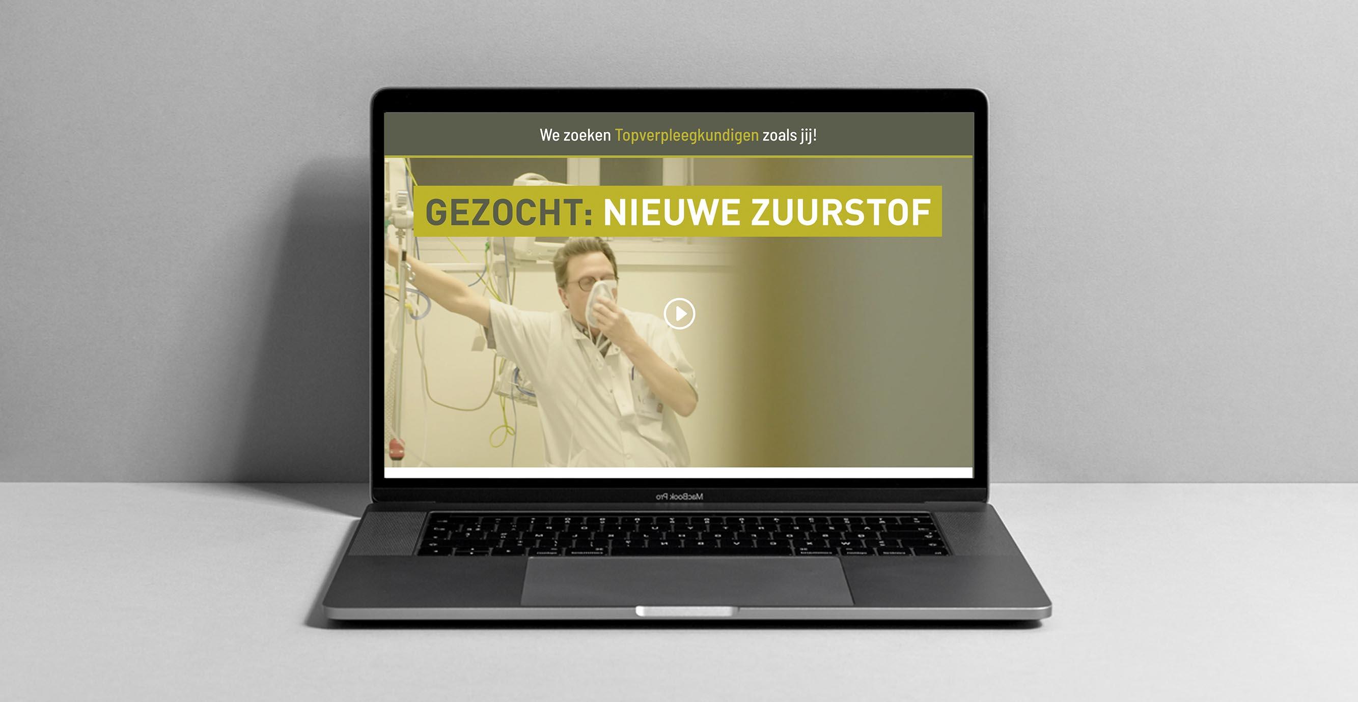 Foto van de website dimitri zoekt.